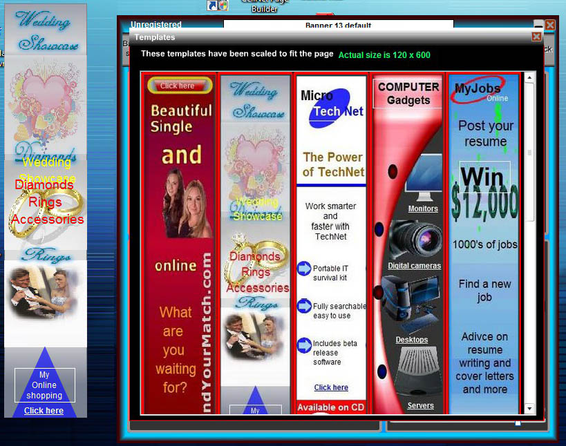 CellSoftNet Banner Maker Screenshot